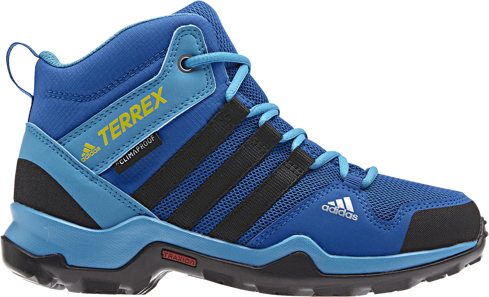 adidas TERREX AX2R Mid CP Shoes Kinder blue beautycore blackshoyel